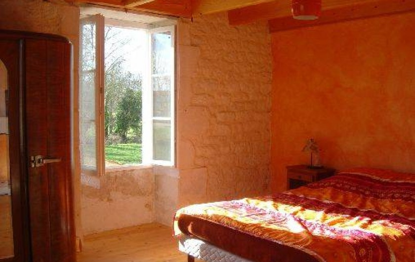 Location de vacances - Gîte à Bouillé-Courdault - Chambre 1