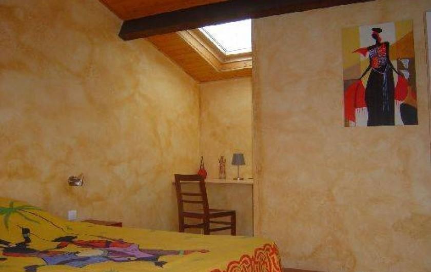 Location de vacances - Gîte à Bouillé-Courdault - Chambre 2