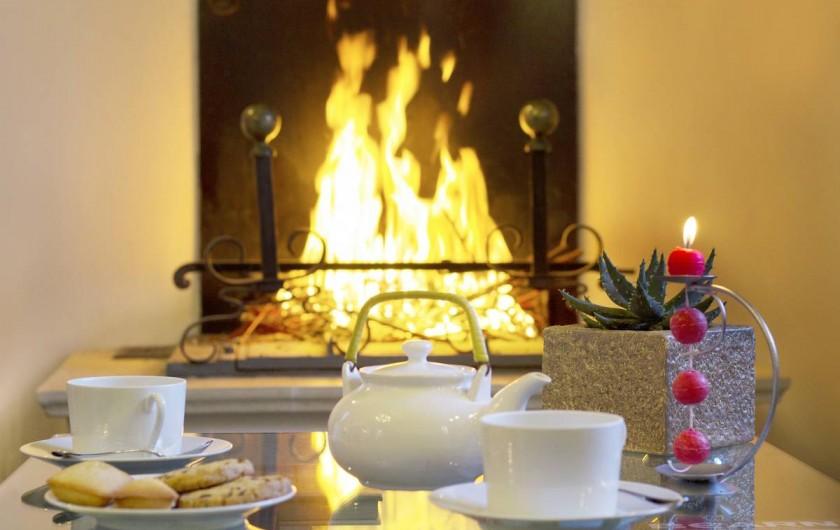 Location de vacances - Chambre d'hôtes à Monein - Au coin du feu