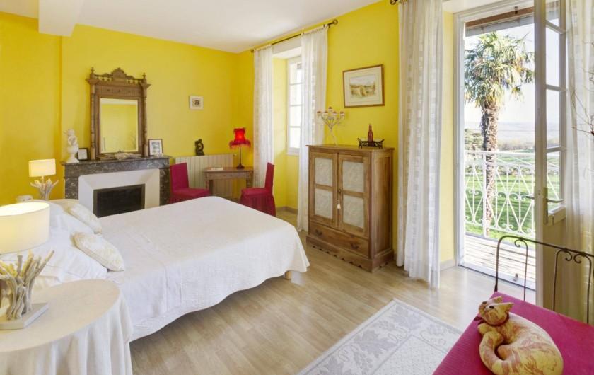 Location de vacances - Chambre d'hôtes à Monein - La chambre Mansegou