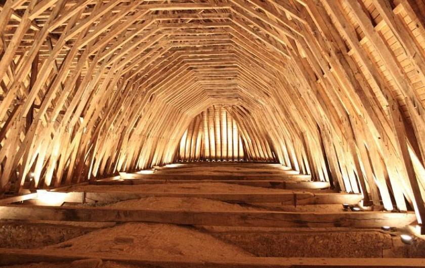 Location de vacances - Chambre d'hôtes à Monein - La charpente de l'église St Girons de Monein