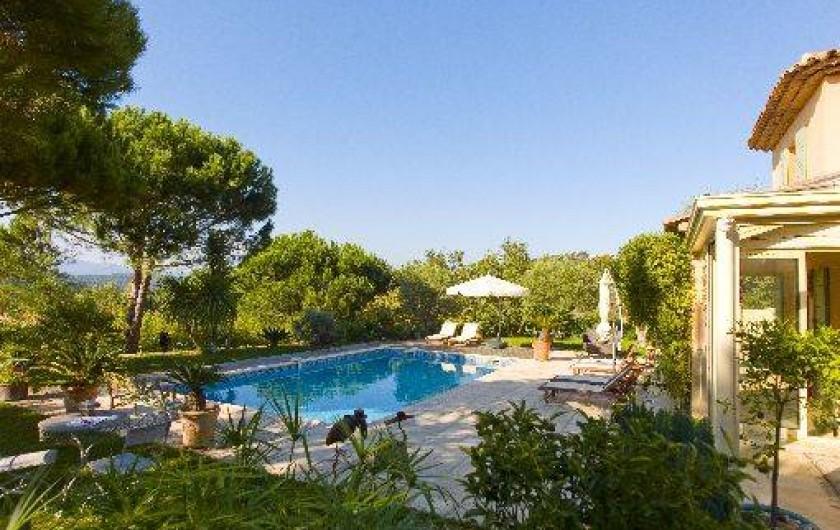 Chambres d 39 h tes dans le golfe de st tropez avec piscine - Chambre d hote dans la drome avec piscine ...
