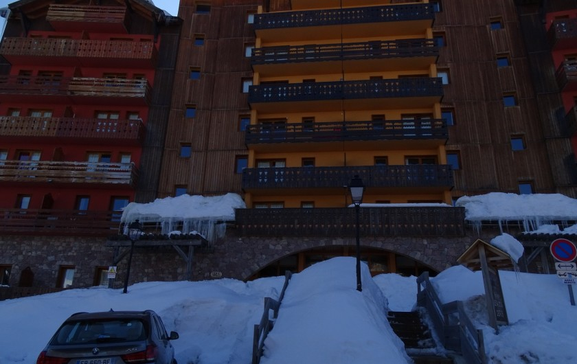Location de vacances - Appartement à Station de Risoul 1850 - Entrée des Balcons de Sirius