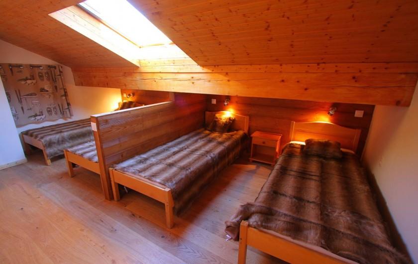 Location de vacances - Appartement à Saint-Martin-de-Belleville - Chambre 3