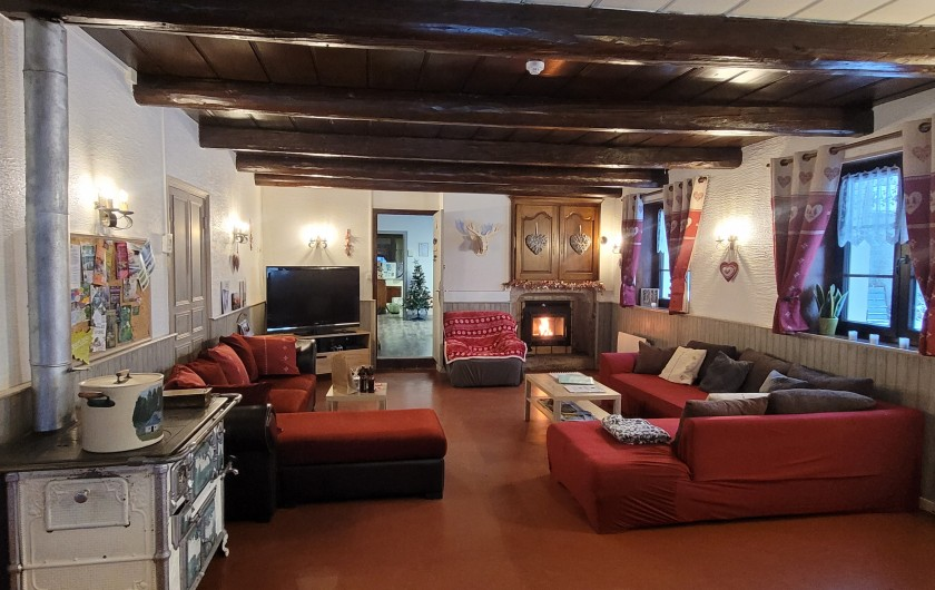 Location de vacances - Gîte à Sapois - La salle à manger