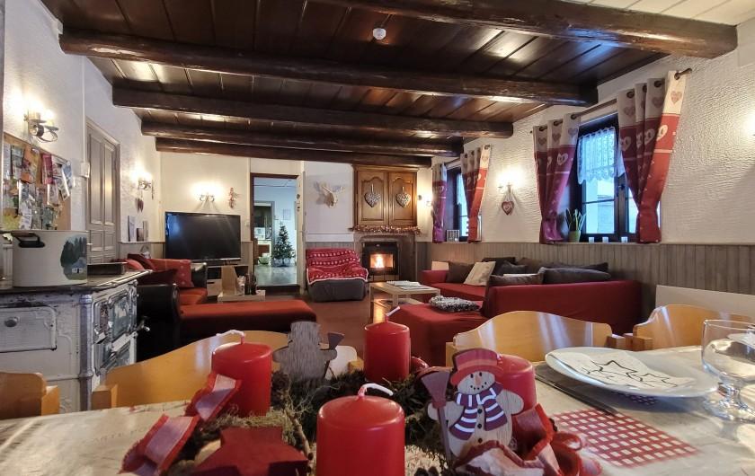 Location de vacances - Gîte à Sapois - Le salon