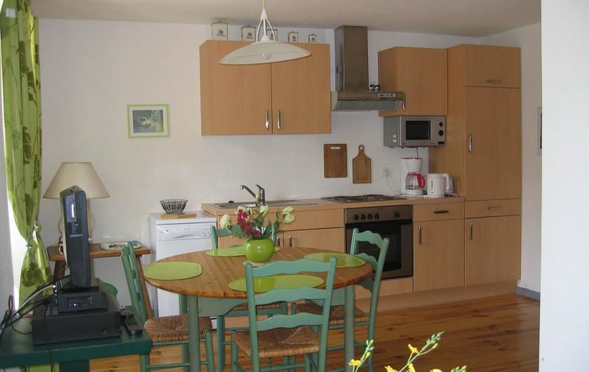 Location de vacances - Gîte à Malbuisson - cuisine gites 4 personnes