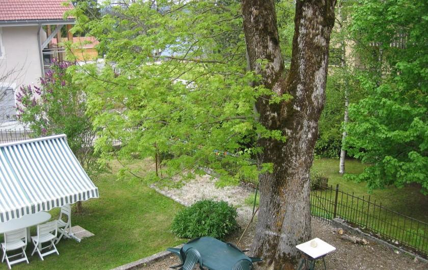 Location de vacances - Gîte à Malbuisson - jardin