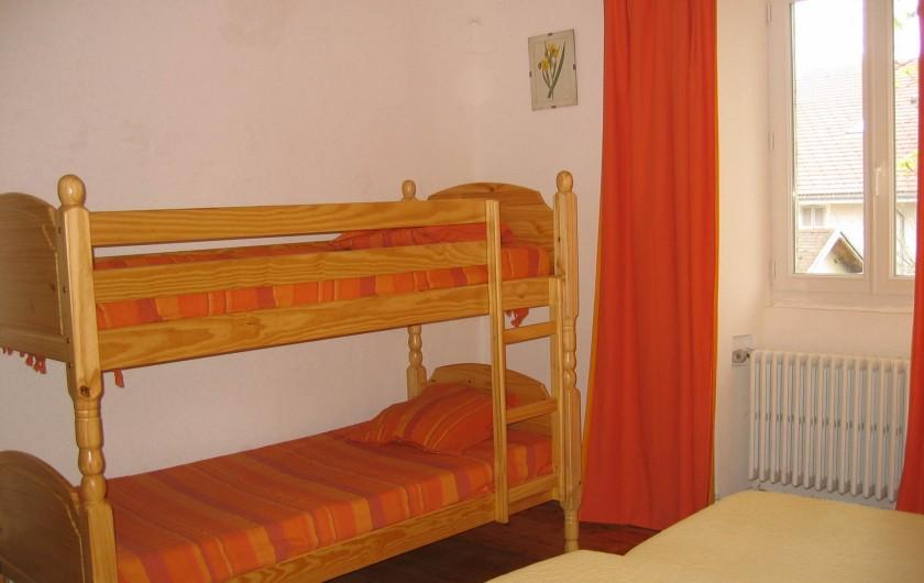 Location de vacances - Gîte à Malbuisson - chambre 4 personnes gite 8 personnes