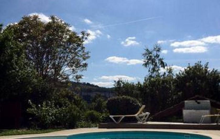 Location de vacances - Chambre d'hôtes à Tour-de-Faure - La piscine
