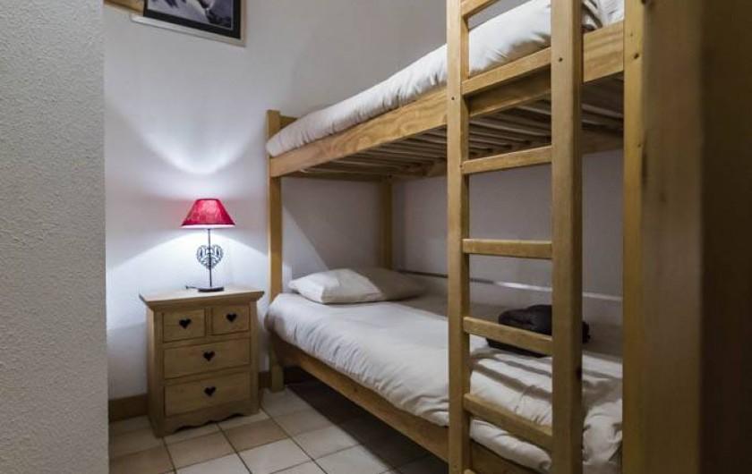 Location de vacances - Chalet à Val-d'Isère - Chambre 4