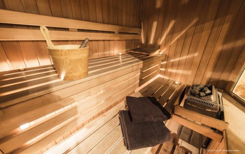 Location de vacances - Chalet à Val-d'Isère - Sauna