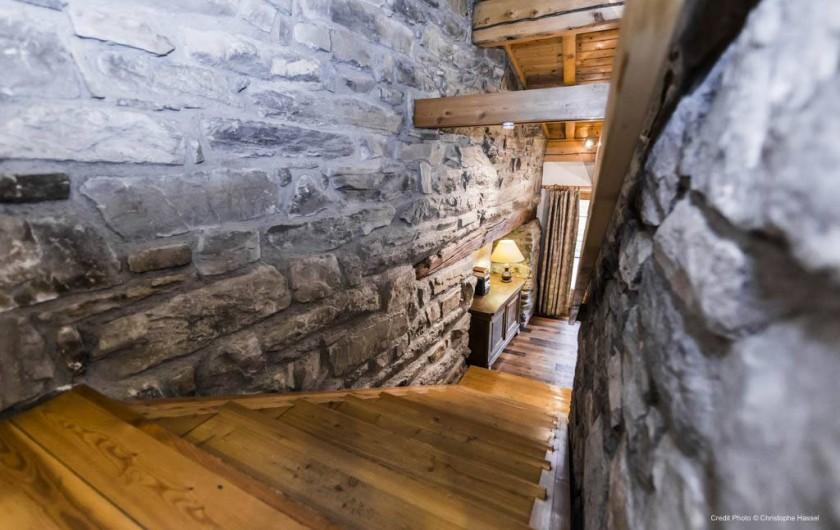 Location de vacances - Chalet à Val-d'Isère - Escalier