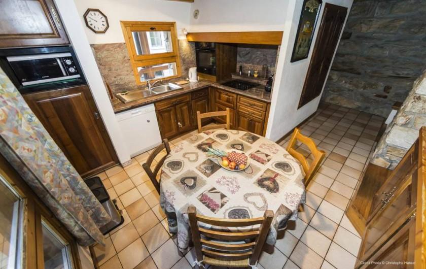 Location de vacances - Chalet à Val-d'Isère - Cuisine