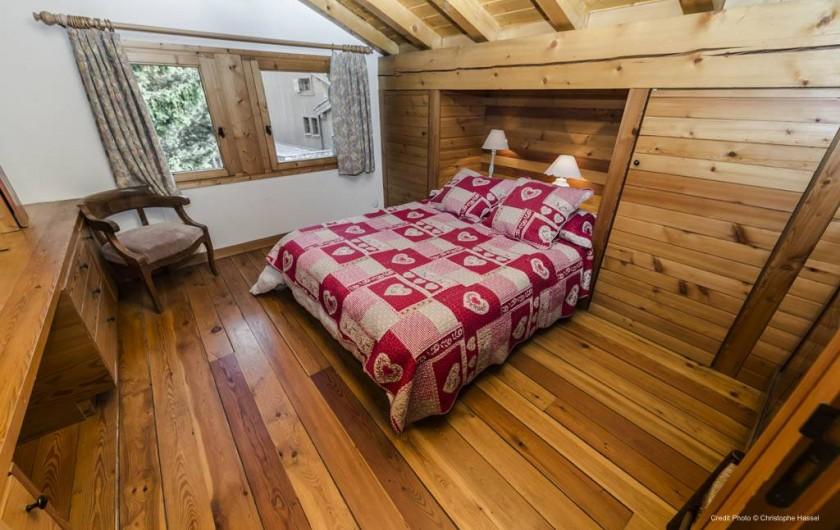 Location de vacances - Chalet à Val-d'Isère - Chambre 1