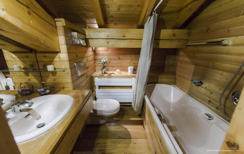 Location de vacances - Chalet à Val-d'Isère - Salle de bains chambre 1
