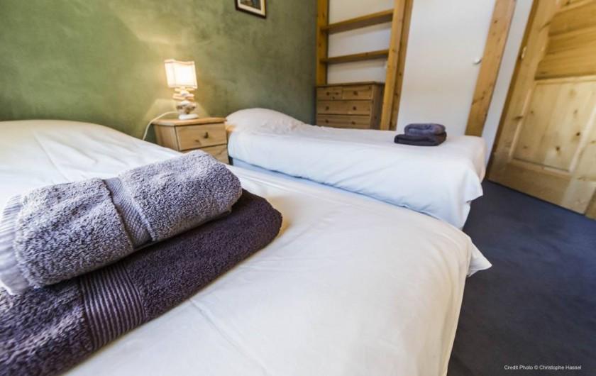 Location de vacances - Chalet à Val-d'Isère - Chambre 2