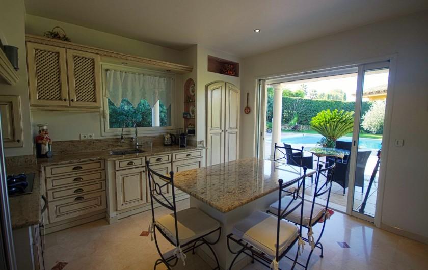 Location de vacances - Villa à Mougins - Cuisine villa