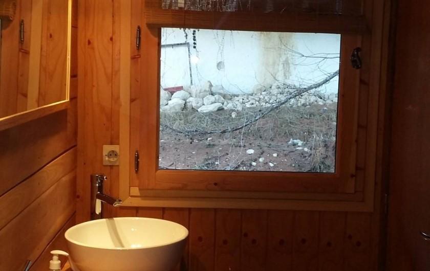 Location de vacances - Chalet à La Joue du Loup - Coin sanitaire