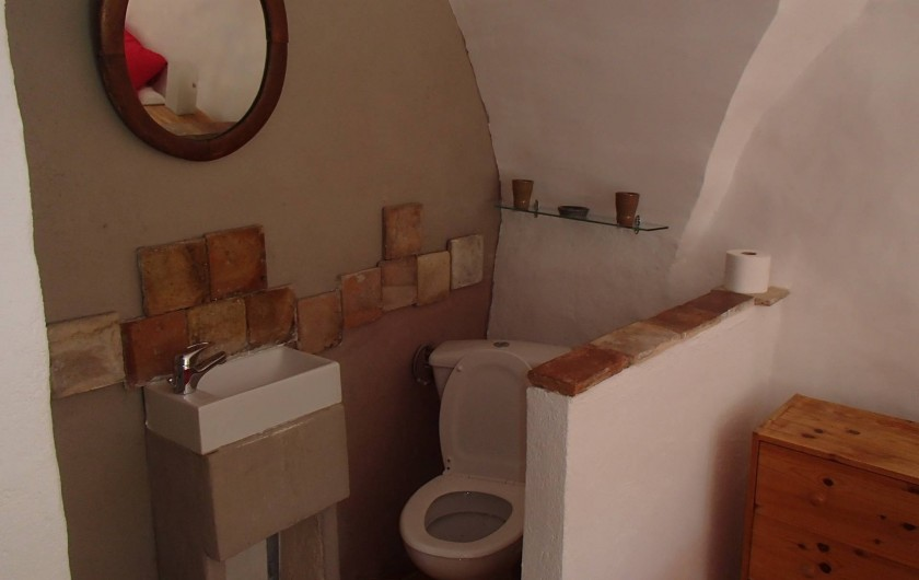 Location de vacances - Gîte à Chorges - chambre autonome (en supplément) WC