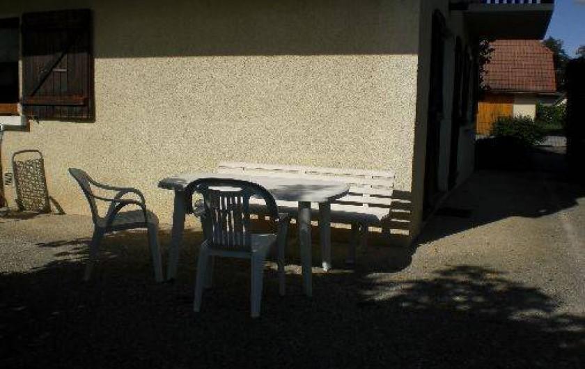 Location de vacances - Appartement à Pers-Jussy