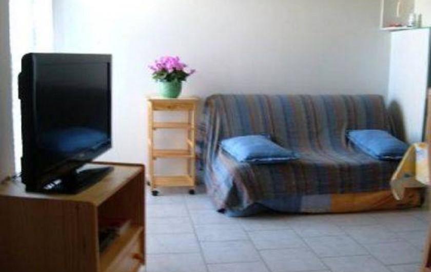 Location de vacances - Gîte à Saint-Romain-en-Viennois - Salon Gite 3