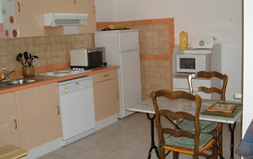 Location de vacances - Gîte à Saint-Romain-en-Viennois - Coin cuisine Gite 1