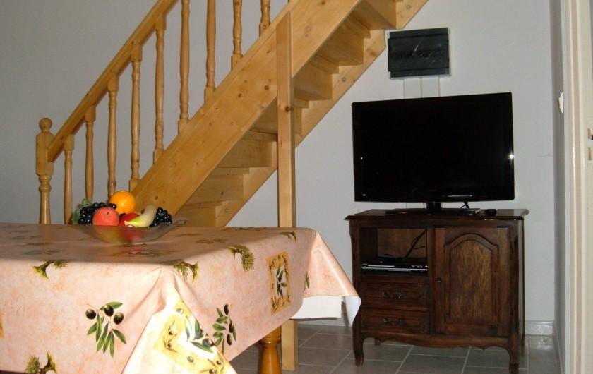 Location de vacances - Gîte à Saint-Romain-en-Viennois - Coin TV