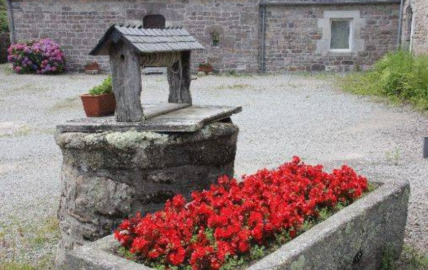 Location de vacances - Gîte à Bénodet - Le puits