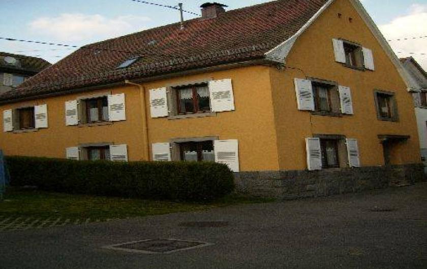 Location de vacances - Appartement à Metzeral