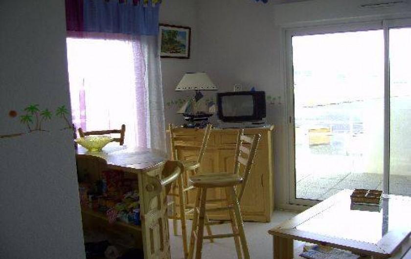 Location de vacances - Appartement à La Barre-de-Monts - Pièce de vie