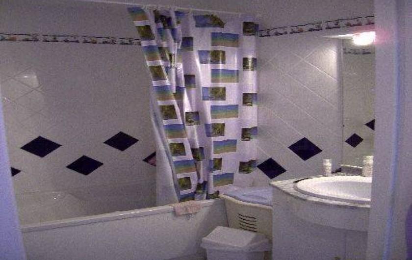 Location de vacances - Appartement à La Barre-de-Monts - Salle de bain