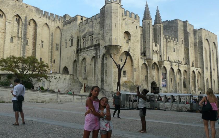 Location de vacances - Villa à Vaison-la-Romaine - la cité des Papes d'Avignon située à 50km