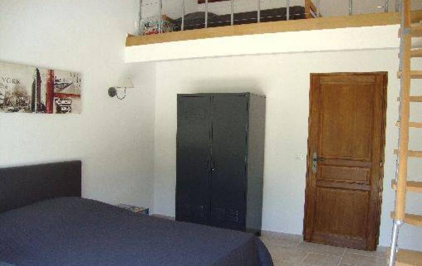 Location de vacances - Villa à Salernes - Mezzanine