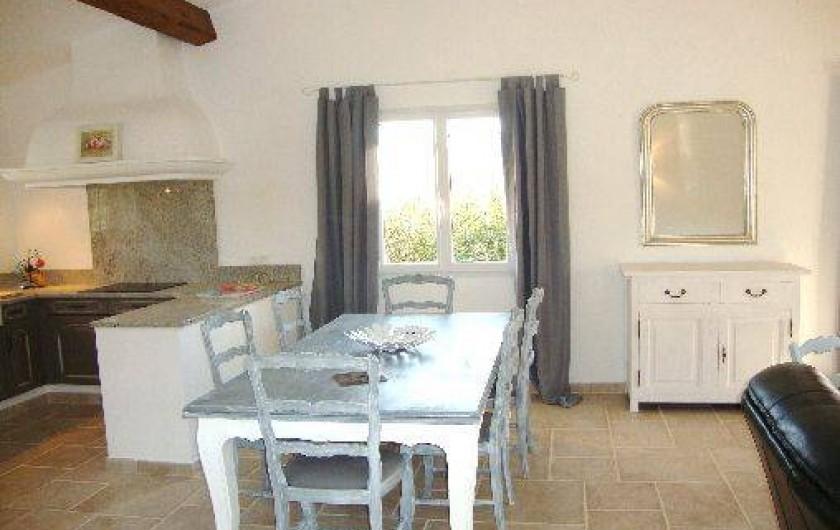 Location de vacances - Villa à Salernes - Séjour