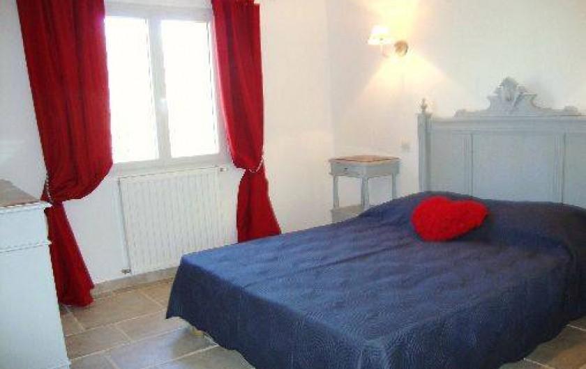 Location de vacances - Villa à Salernes - Chambre romantique
