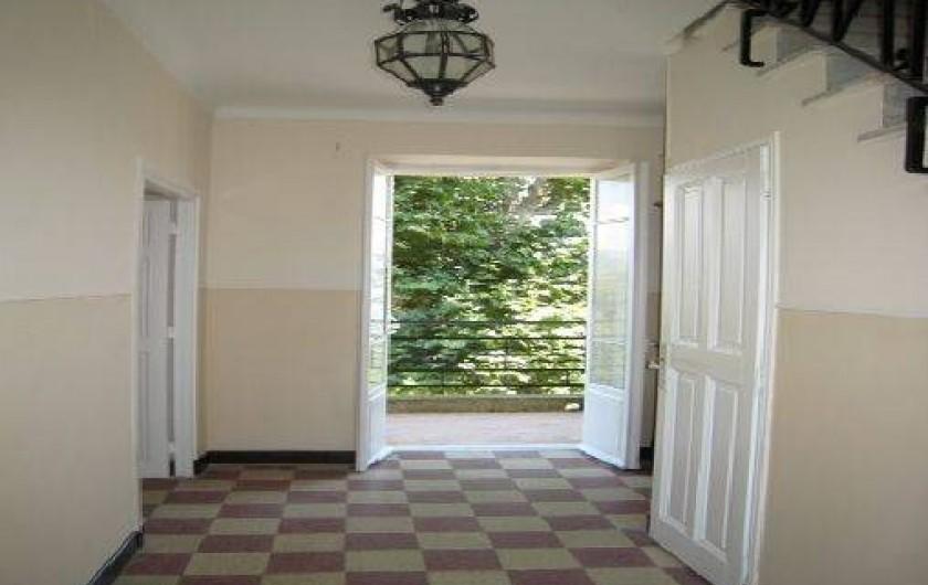 Location de vacances - Maison - Villa à Berre-les-Alpes - Hall d'entrée
