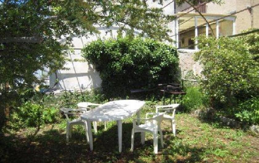 Location de vacances - Maison - Villa à Berre-les-Alpes - Jardin