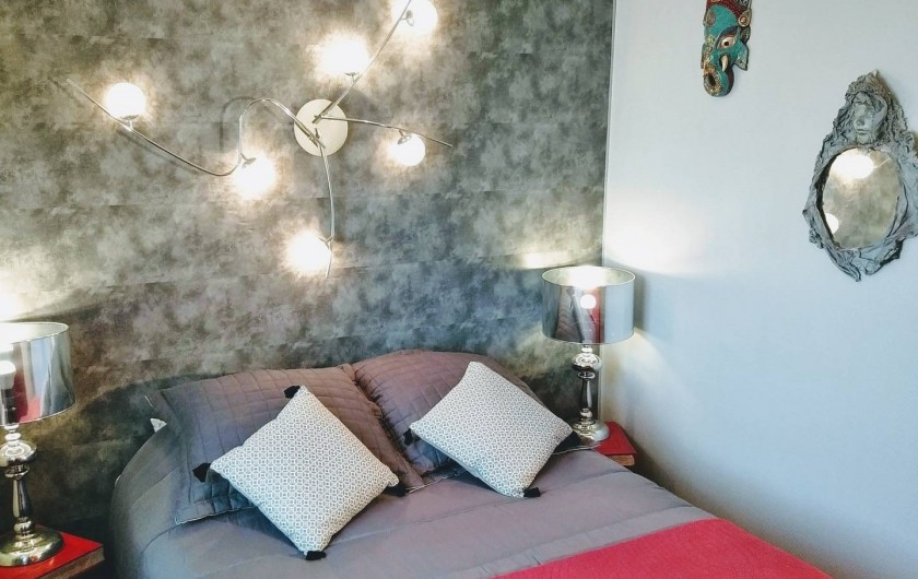 Location de vacances - Villa à Labenne - Chambre 1