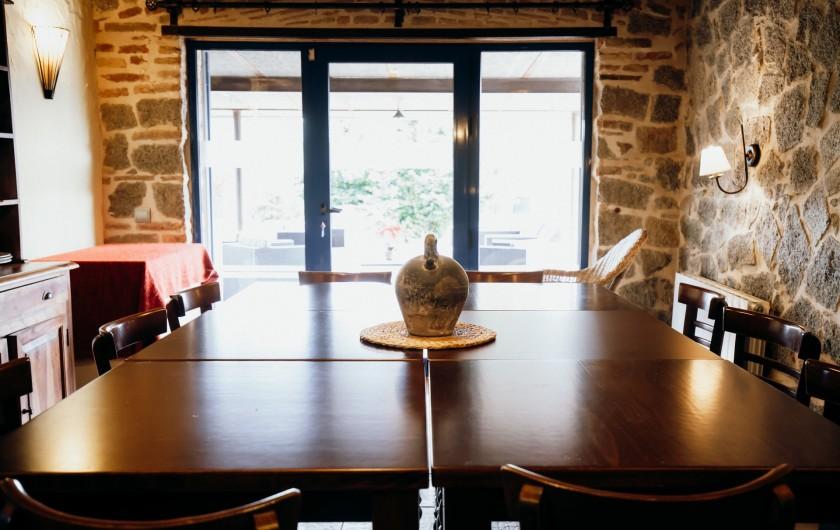 Location de vacances - Mas à Alforja - salle à manger