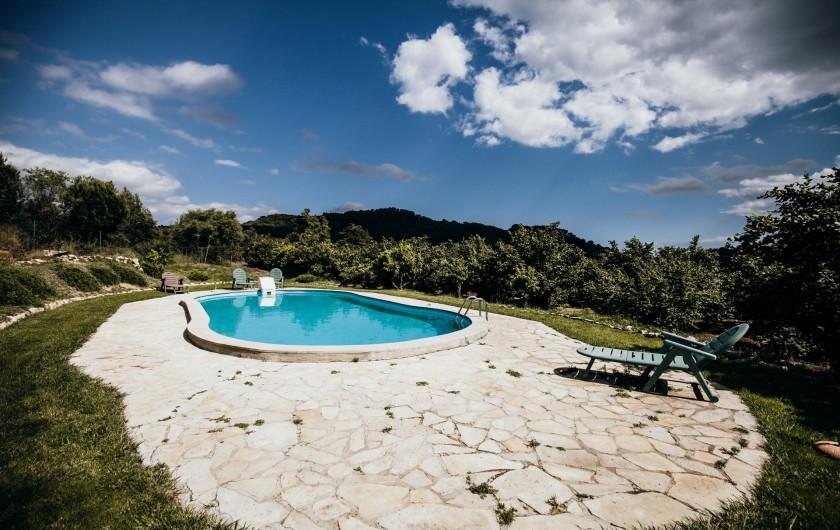 Location de vacances - Mas à Alforja - piscine
