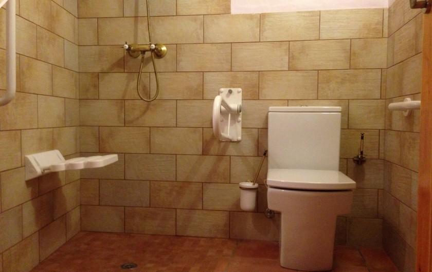 Location de vacances - Mas à Alforja - Hampton wc