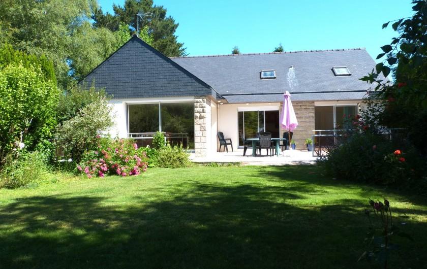 Location de vacances - Maison - Villa à Névez - jardin