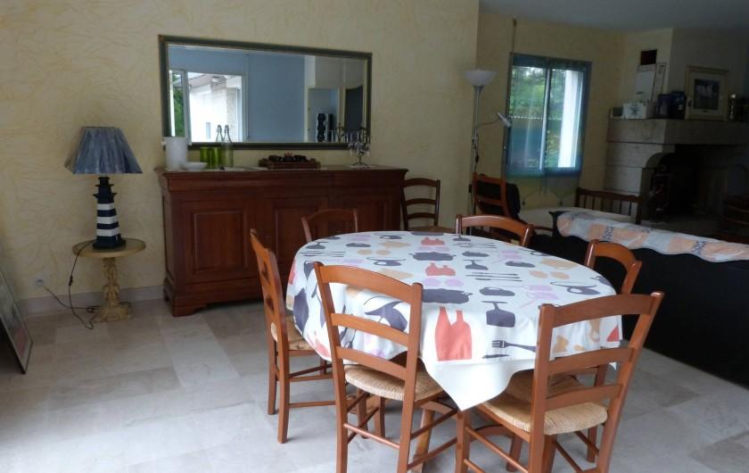 Location de vacances - Maison - Villa à Névez - salle à manger