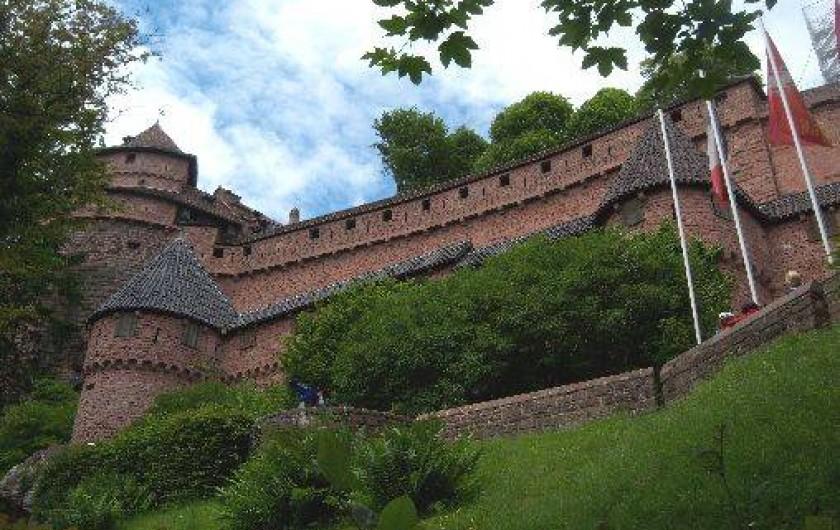 Chambres d 39 h tes sur la route des vins et aux pieds du haut koenigsbourg kintzheim - Chambre d hote route des vins bourgogne ...