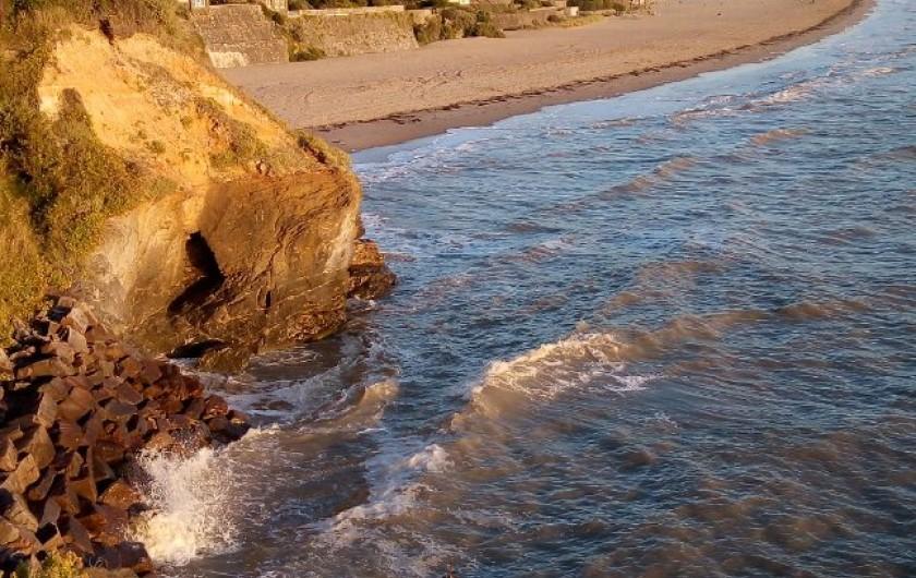Location de vacances - Appartement à La Bernerie-en-Retz - Accès direct à la plage