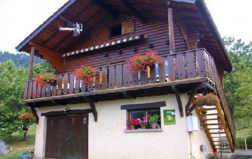 Location de vacances - Chalet à Bonvillaret