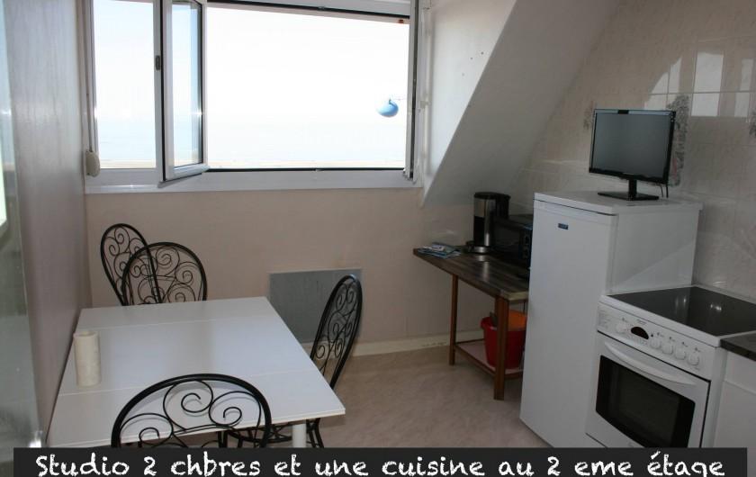 Location de vacances - Appartement à Le Portel - Duplex, 2éme étage, cuisine