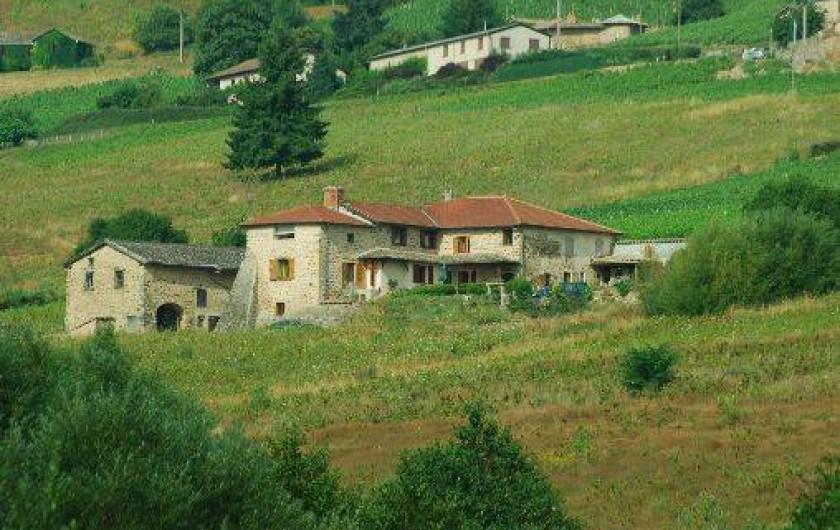 Location de vacances - Chambre d'hôtes à Quincié-en-Beaujolais
