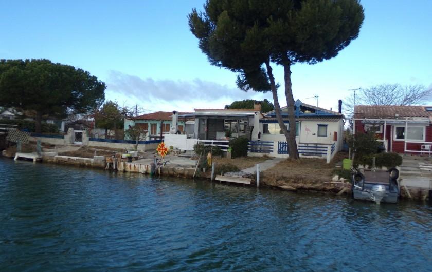 Location de vacances - Péniche à Frontignan - LE LONG DE LA PROMENADE LES CABANE DES PECHEURS